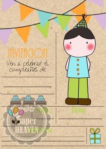 cumpleaños nino