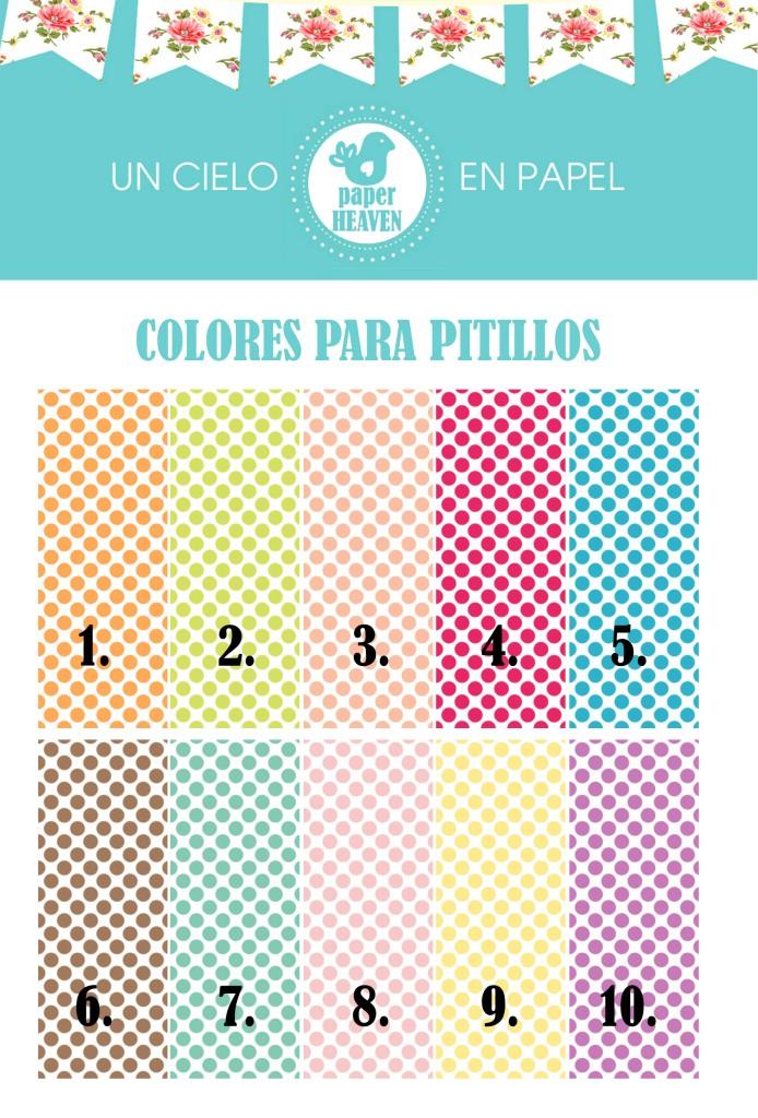 carta de colores