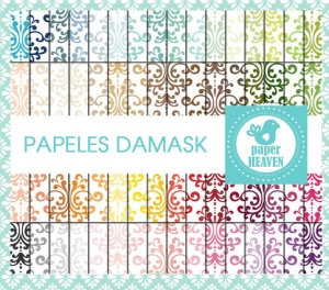 PAPELES DAMASK